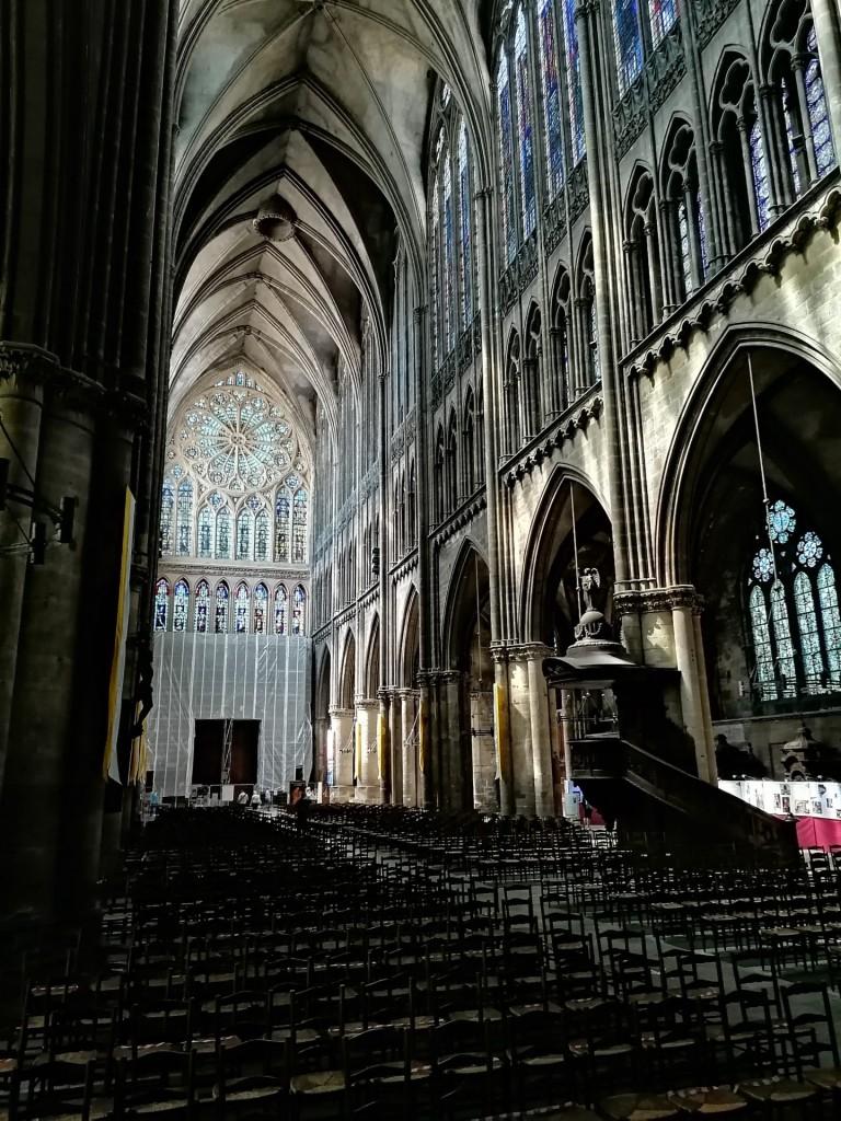 """In der Kathedrale """"St. Etienne"""""""